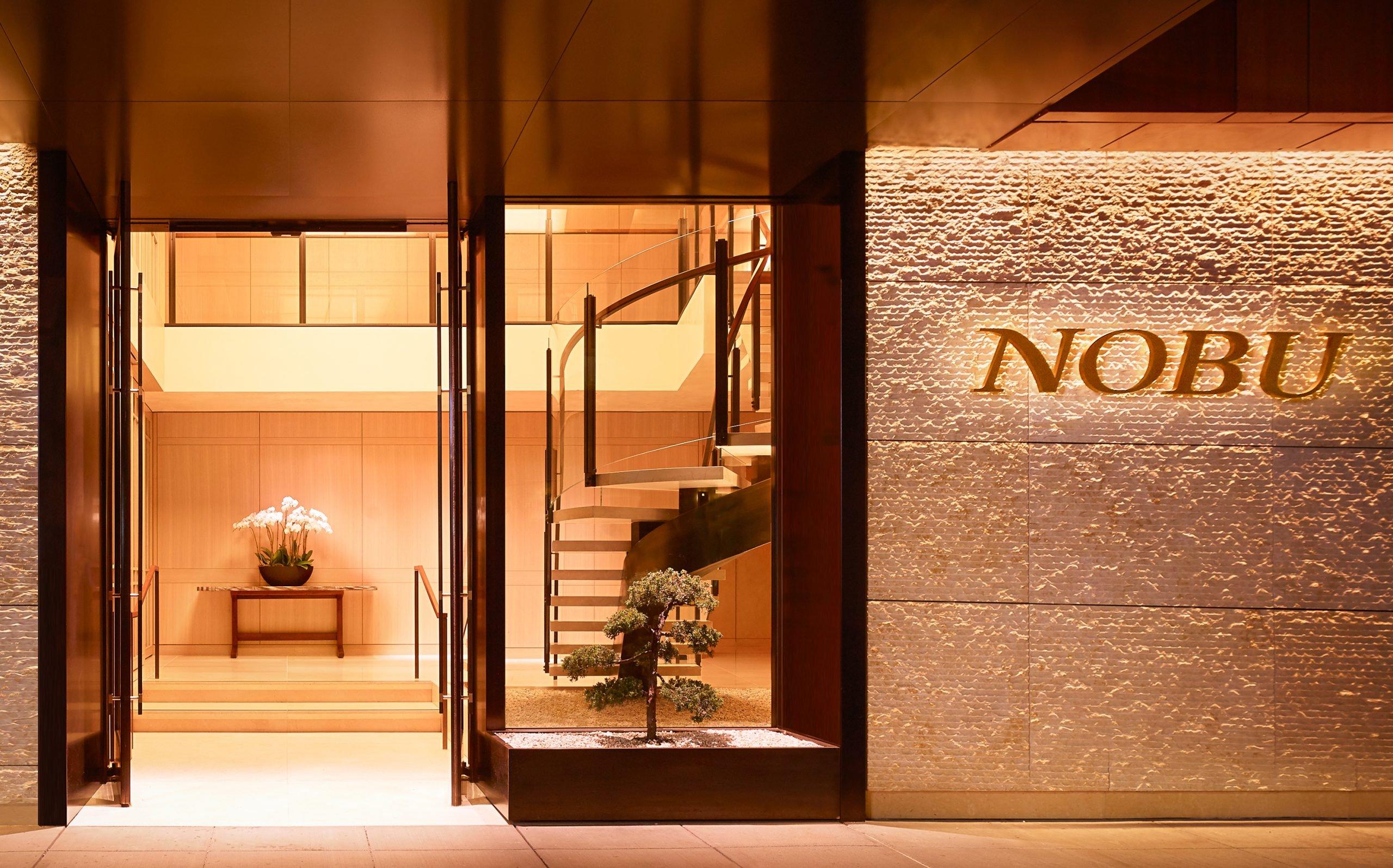 entrance to Nobu hotel